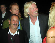 Rick and Richard Branson