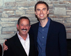 Rick with Brendon Burchard