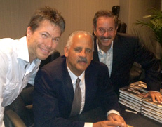 Rick with Stedman Graham and Alex Carroll