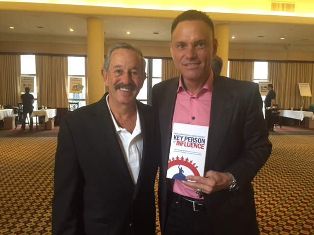 Rick with Kevin Harrington